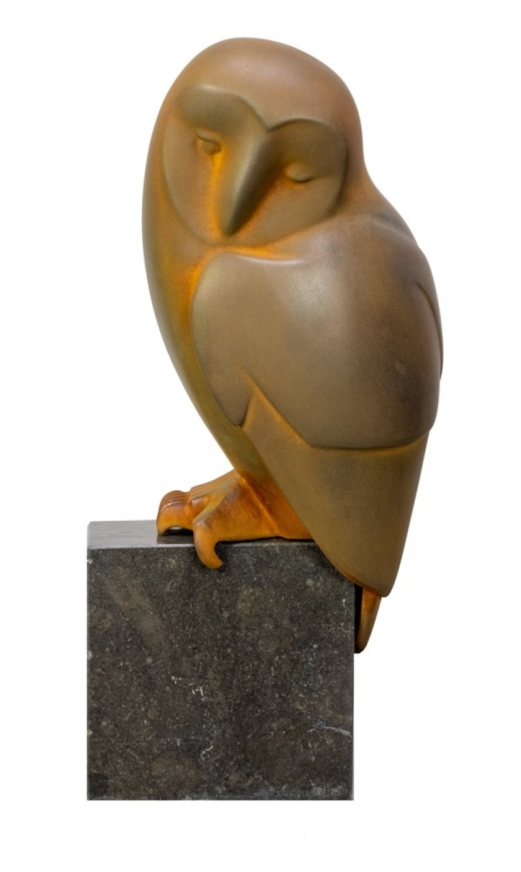 Evert den Hartog - Zittende uil no 8