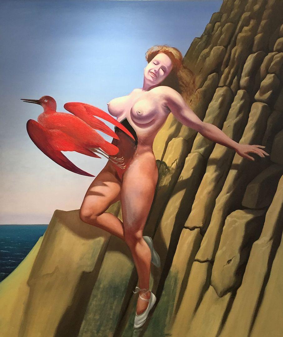 Moesman, Zonder titel, olieverf op linnen, 130 x 110 cm, 1978